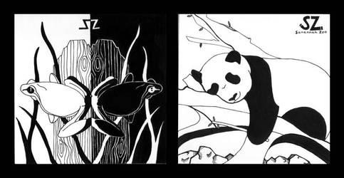 Zoo Logo by drewisgenki