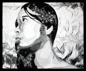 Texture Self-Portrait by drewisgenki