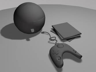 untextured Console by drewisgenki