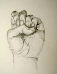 Hand Study I by drewisgenki
