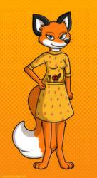 Fantastic Mrs. Fox by MeckelFoxStudio