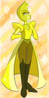 The ''Lemonous'' Yellow Diamond by QueenDarike