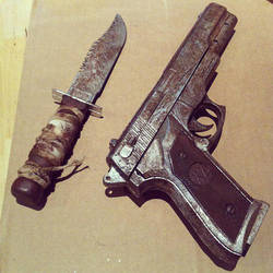Tomb Raider Weapons The Making By Rose Cosplay On Deviantart