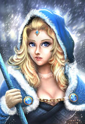 Crystal Maiden or Naomi? by madeincg