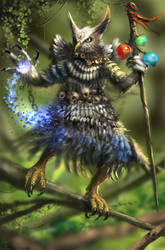 Sage Owl by madeincg