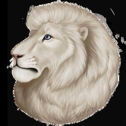 Marshmallow Lion by konikfryzyjski