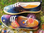 Galaxy shoes by Catscendence