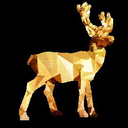 Low Poly Deer by SabrinaDeets