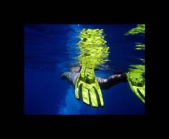 Blue sea by Bivon