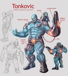 tonkovic character concept by syam-arifin