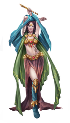 Character design, muse by syam-arifin