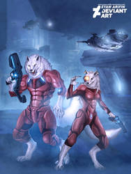 Wolves space by syam-arifin