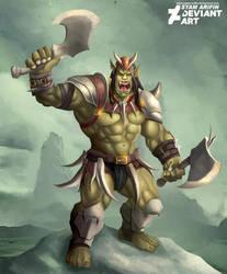 mad orc by syam-arifin
