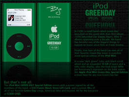 Green Day iPod Mini by AlphaRob