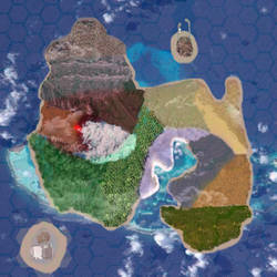 Ferrel Academy Island Map by Tyro-Jerrit-Heartnot