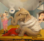 The Elephant in Freud's Bedroom by sgibb
