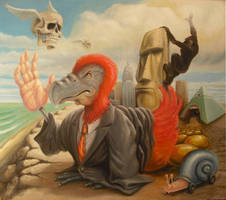 Meteoric rise and fall of the majestic red dodo by sgibb