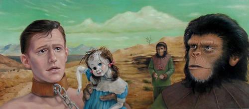 Apes by sgibb