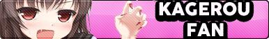Kagerou Fan Button by buttonsmakerv2