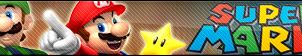 Super Mario fan button by buttonsmakerv2