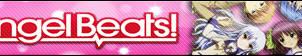 Angel Beats Fan Button by buttonsmakerv2