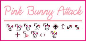 Cursor Set: Pink Bunny by rabbitgirl316
