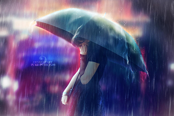 .: Rainy Night :. by Pure-Poison89