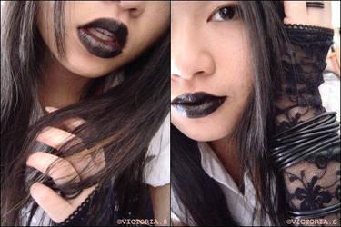 levres noir by ma-vie