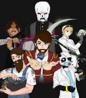 The Four Yogsmen of the Yogpocalypse by evilyaoineko