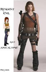 Alice-Resident Evil Apocalypse by evilyaoineko