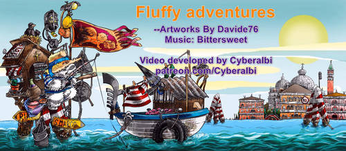 Fluffy adventures comics Video by Cyberalbi