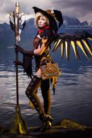 Mercy from Overwatch (Witch skin) by PakuPaku-Ru