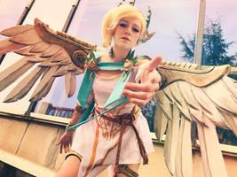 Mercy Winged Victory from Overwatch by PakuPaku-Ru