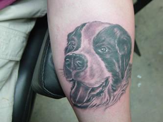 dog tattoo3 by ganesaishaya