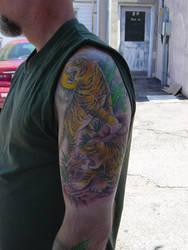 tiger tattoo 2 by ganesaishaya