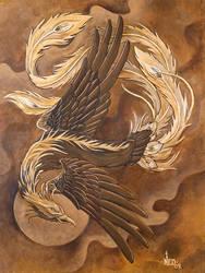 phoenix by ganesaishaya