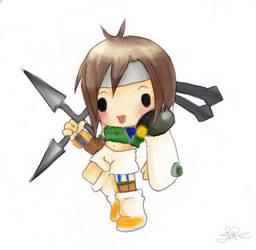 Chibi Yuffie by capsicum