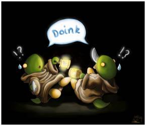 Double Doink by capsicum