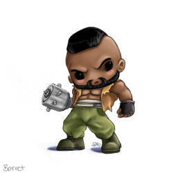 Chibi Barret by capsicum