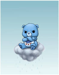 Grumpy Bear by capsicum