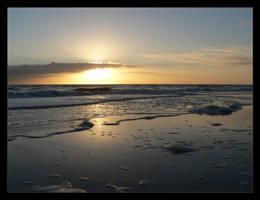Quiet Sunset by capsicum