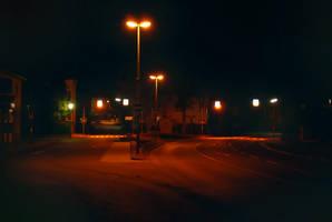 Crossing at Night by Sed-rah-Stock