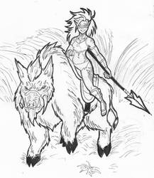 Orc Rider by Baby-Crow
