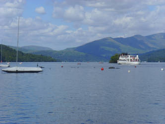 Teal On Windermere in Summer by TanzieB