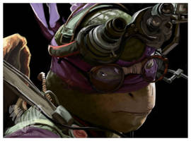 Donatello by shayfifearts
