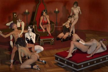 Blood Orgy by DrMcQuark