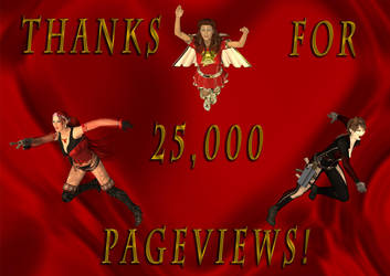 Thanks For 25000 Pageviews! by DrMcQuark