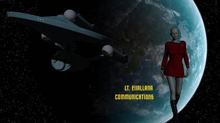 Lt Eiiallana - Communications Officer by DrMcQuark