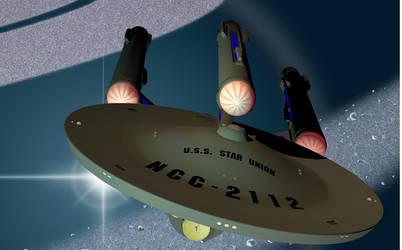 U.S.S. Star Union - Federation Dreadnought WiP by DrMcQuark