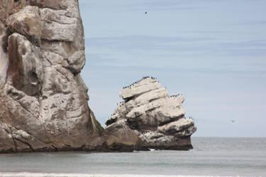 Stock: Gathering at the Rock by PapayaPirate